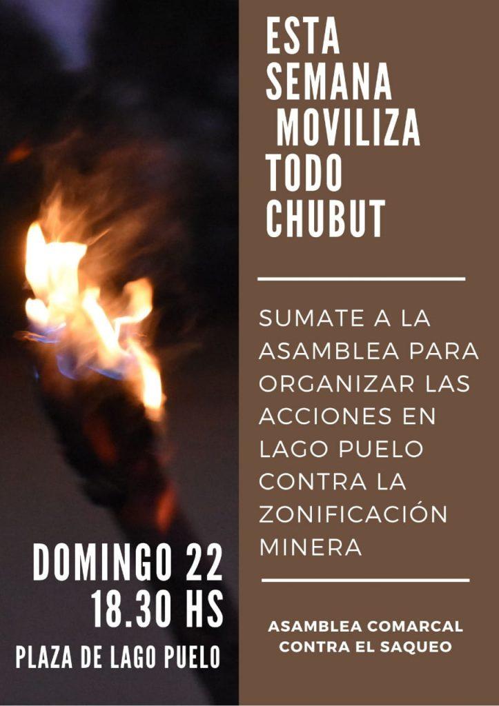 """Chubut, Argentina: """"No a la mina"""""""
