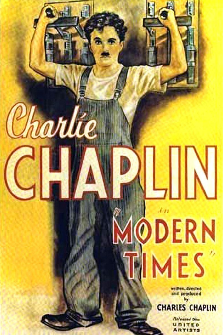 """""""Tiempos Modernos"""", el adiós a Charlot"""