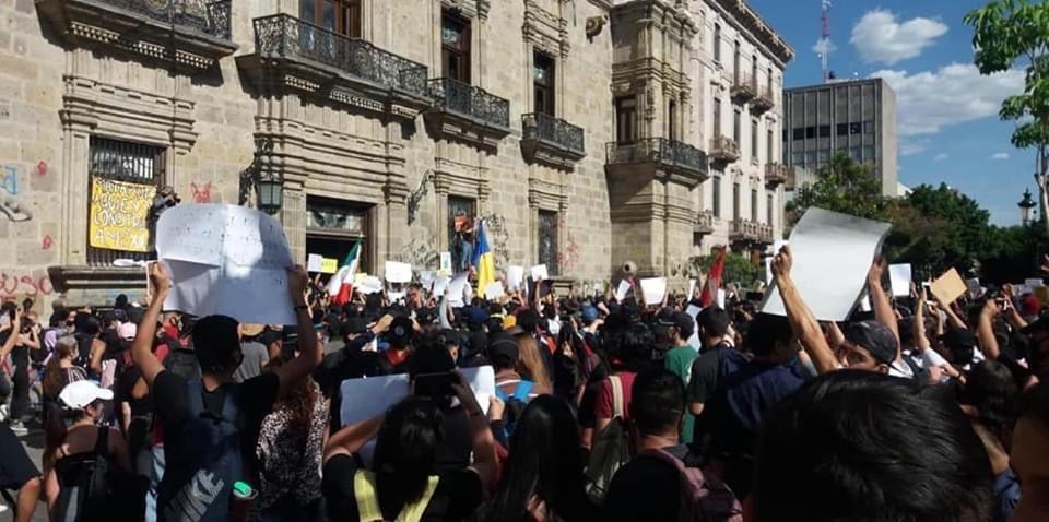 Represión en Jalisco