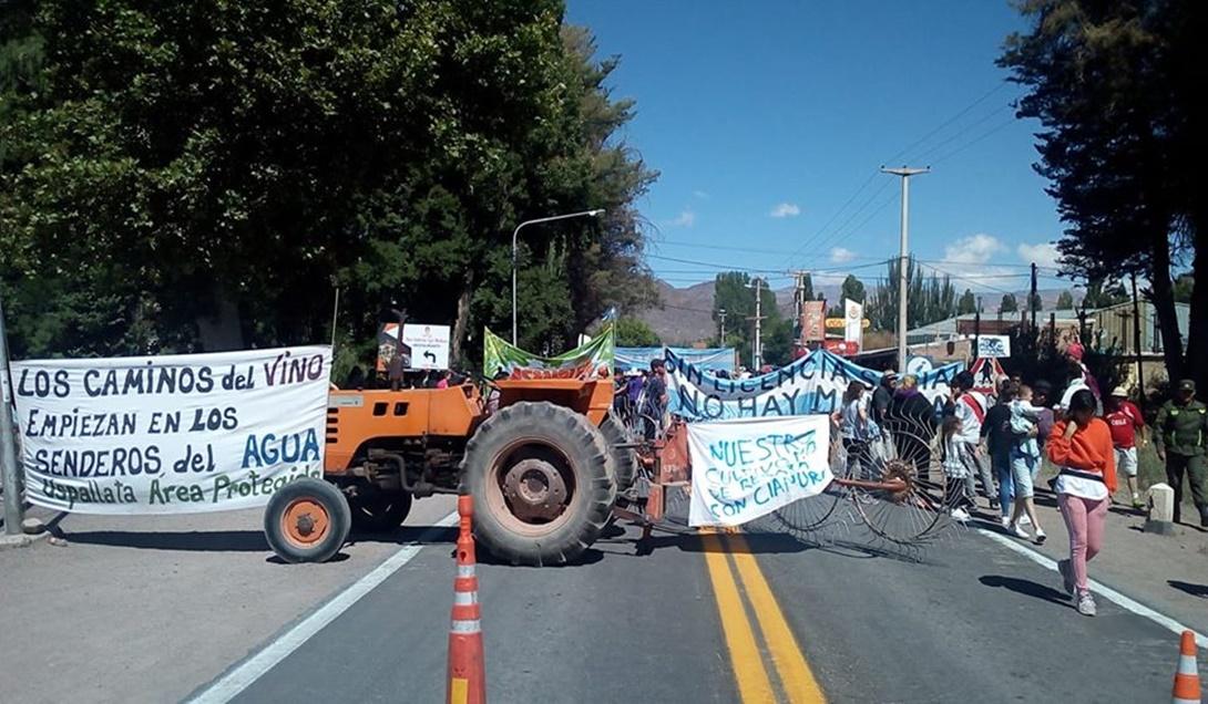 Mendoza, Argentina: Marcha por el Agua