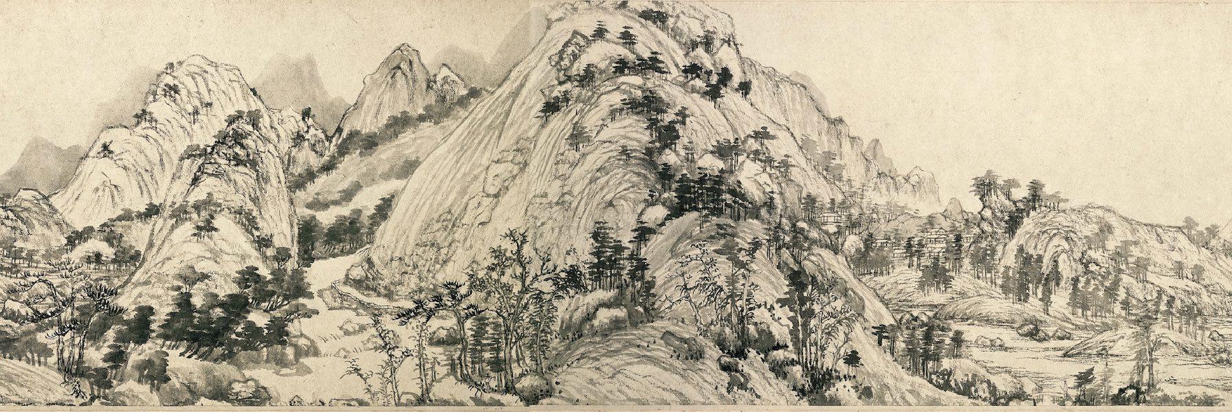 Viviendo en las montañas Fuchun