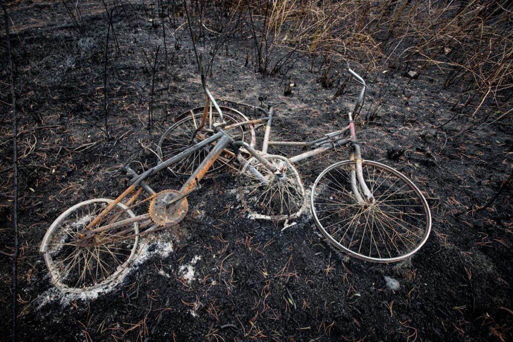 Incendios en Chubut, Argentina