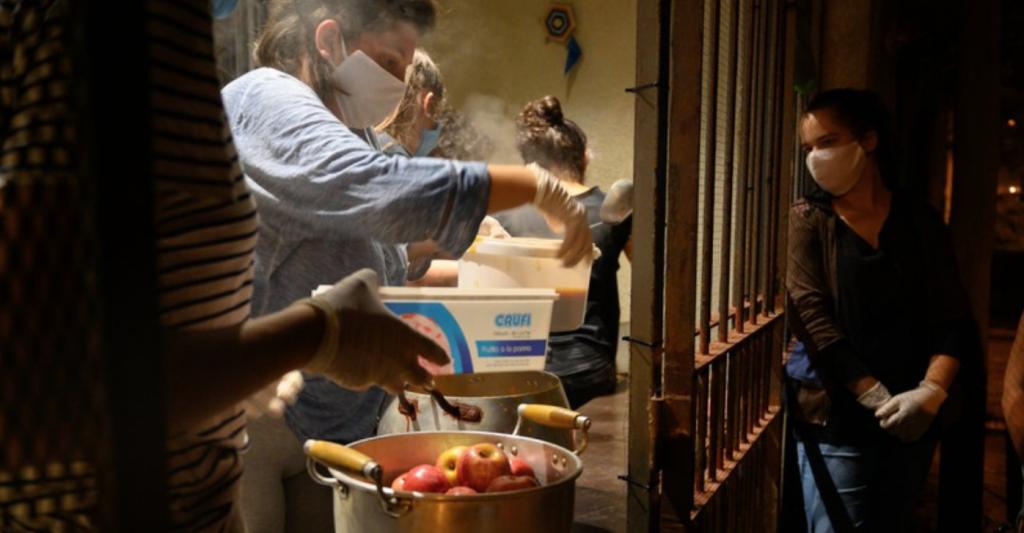 Investigaciones sobre ollas y merenderos populares en Uruguay 2020