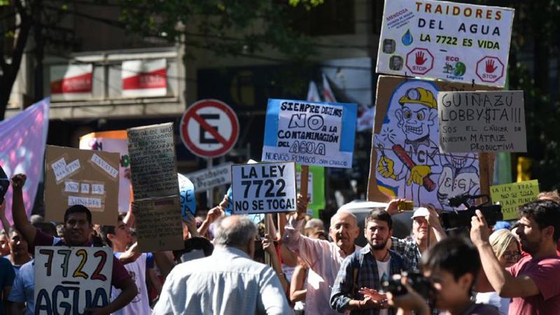 Mendoza: Marcha por el Agua