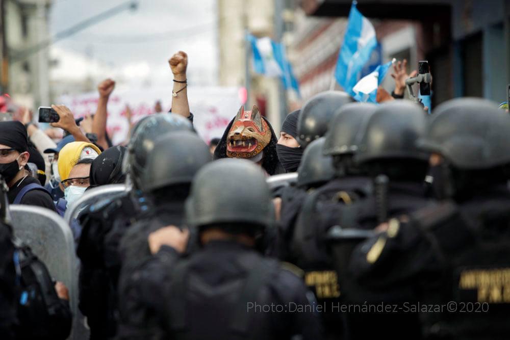 Guatemala: la quema del Congreso