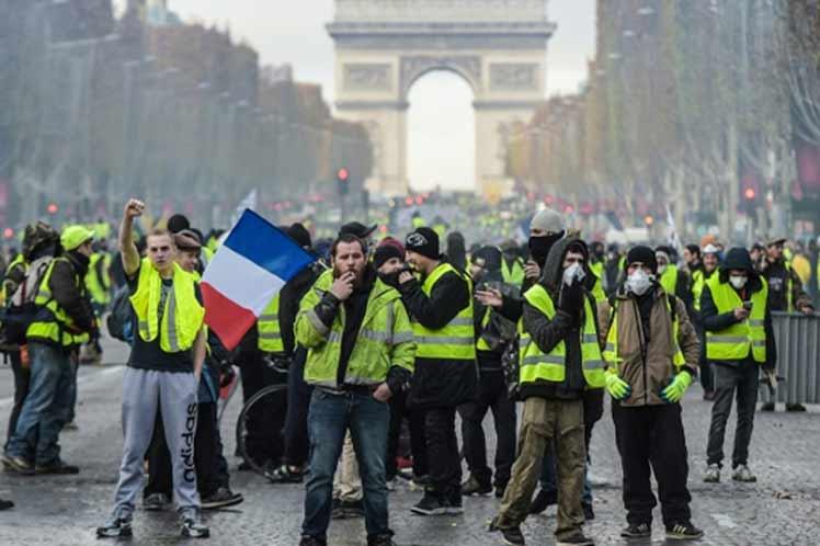 Los Chalecos Amarillos y la crisis de legitimidad del Estado