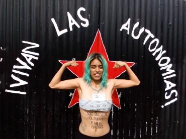 En territorios zapatistas no hay feminicidios ni mujeres desaparecidas