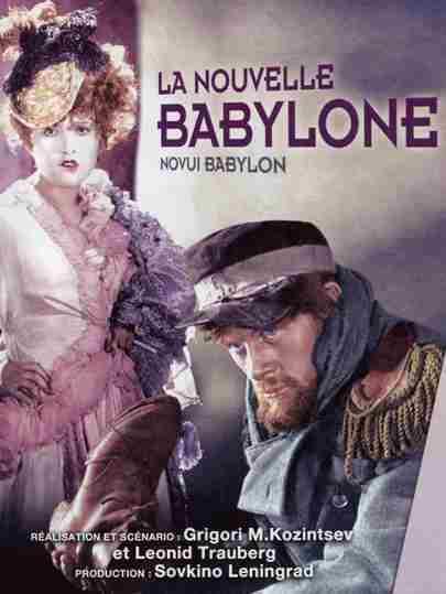 Comuna de París: película La Nueva Babilonia