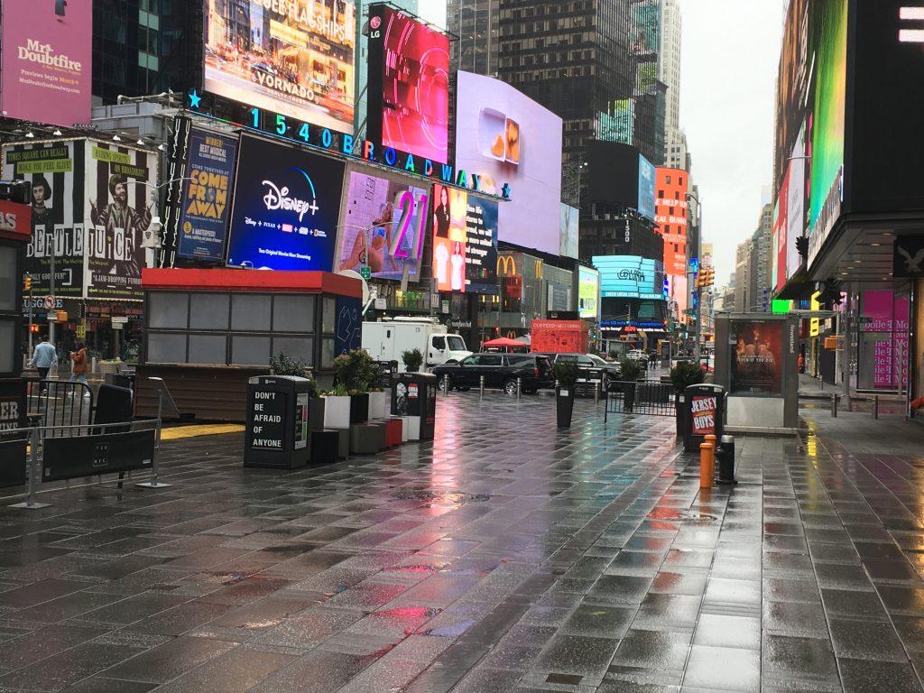 Nueva York: Crónica del coronavirus anunciao